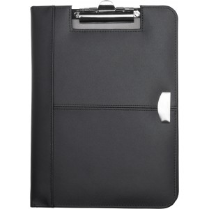 A4 Bonded leather folder, Black (8523-01)