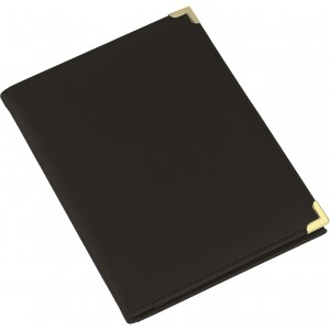 A5 folder, excl pad, item 8500, Black (8622-01)