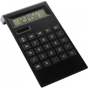 ABS desk calculator, black (4050-01)