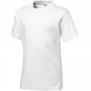 Ace short sleeve kids T-shirt, white, 104 (33S0501)