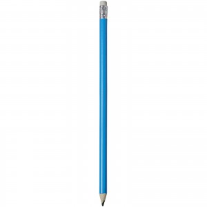 Alegra pencil with coloured barrel, blue, 19 x d: 0,7 cm (10709804)