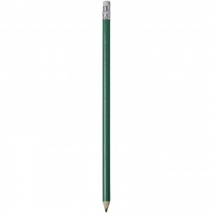 Alegra pencil with coloured barrel, green, 19 x d: 0,7 cm (10709806)