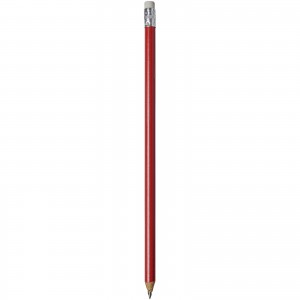 Alegra pencil with coloured barrel, red, 19 x d: 0,7 cm (10709805)