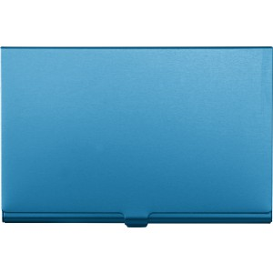 Aluminium card holder, Pale blue (8766-18)