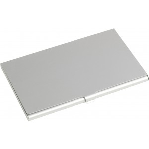 Aluminium card holder, Silver (8766-32)