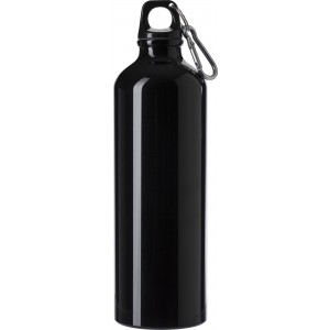 Aluminium flask (750 ml), black (8695-01)