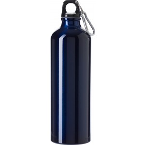 Aluminium flask (750 ml), blue (8695-05)