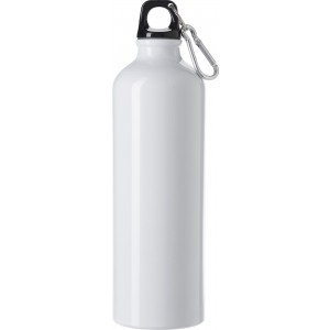 Aluminium flask (750 ml), white (8695-02)