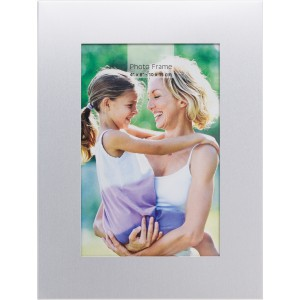 Aluminium photo frame, silver (Photo frames)