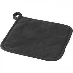 Arica pot holder, solid black, 18 x 18 x 0,8 cm (11260900)