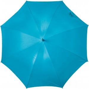 Automatic neon nylon (190T) storm proof umbrella, Neon blue (5263-457)