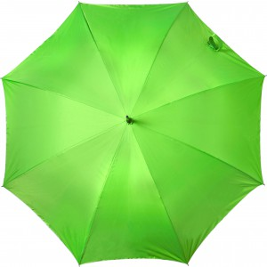 Automatic neon nylon (190T) storm proof umbrella, Neon green (5263-368)