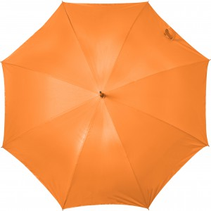 Automatic neon nylon (190T) storm proof umbrella, Neon orang (5263-367)