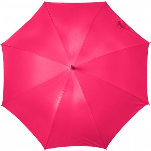 Automatic neon nylon (190T) storm proof umbrella, Neon red (5263-458)