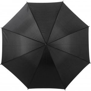 Automatic polyester (190T) umbrella, black (4064-01)