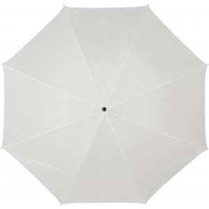 Automatic polyester (190T) umbrella, white (4064-02)