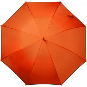 Automatic pongee (190T) storm proof umbrella., orange (5288-07)