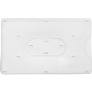 Bank card holder for one card, White (8358-02)