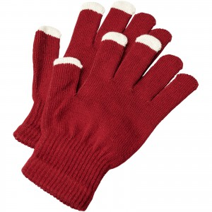 Billy tactile gloves, Red (10080004)
