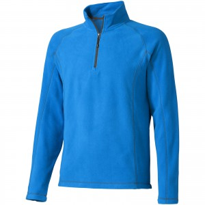 Bowlen polyfleece quarter zip, Blue (3949444)