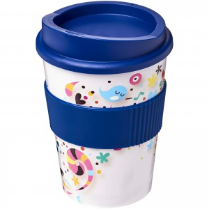Brite-Americano<sup>®</sup> Medio 300 ml tumbler with grip, Blue (21000902)
