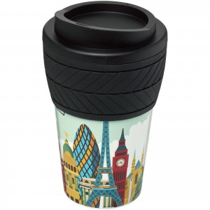 Brite-Americano<sup>®</sup> tyre 350 ml insulated tumbler, solid black (21008800)