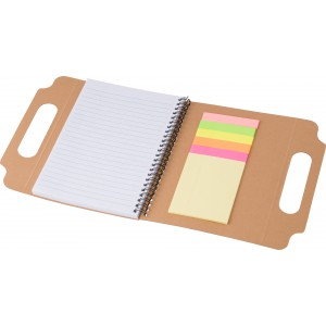 Cardboard notebook (A5), Brown (7817-11)