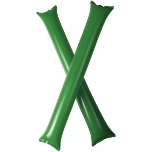 Cheer 2-piece inflatable cheering sticks (10250606)
