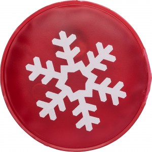 Christmas themed, re-usable hot pad, Red (5229-08)