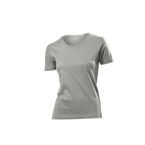 Classic-T Crew neck T-Shirt, Grey Heather, XXL (ST2600.GYH)