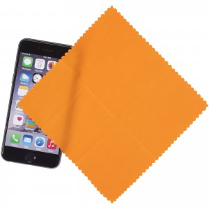 Cleens microfibre screen cleaning cloth, Orange (13424303)