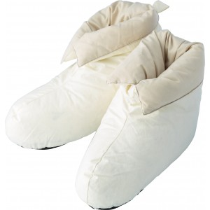 Cotton, house shoes, duck feather and down filling (5468-13L)