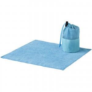 Diamond car cleaning towel and pouch, blue, 10,5 x d: 8 cm (10033000)