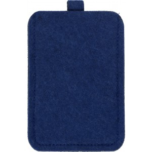 Felt mobile phone pouch., Blue (3760-05)