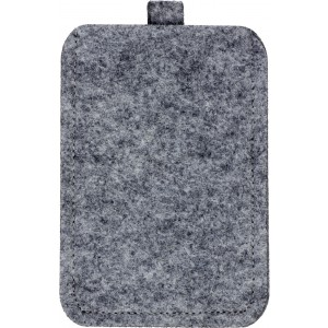 Felt mobile phone pouch., Grey (3760-03)