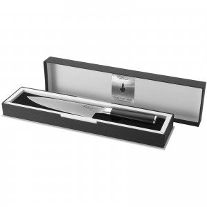 Finesse chef's knife, solid black, 33,5 x 4,5 x 2,3 cm (11239500)