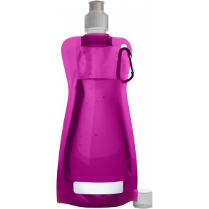 Foldable water bottle, Pink (7567-17)