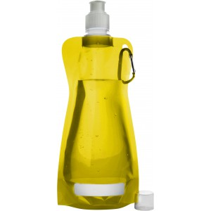 Foldable water bottle, Yellow (7567-06)