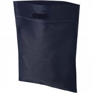 Freedom exhibition tote bag with heat seal, Navy (12018502)