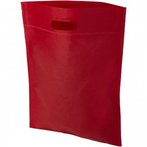 Freedom exhibition tote bag with heat seal, Red (12018504)