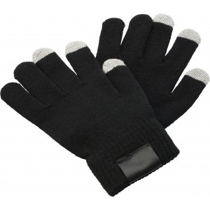 Gloves for capacitive screens., black (5350-01)