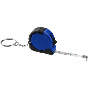Habana 1 metre measuring tape with keychain, Royal blue (10421100)