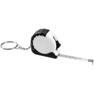 Habana 1 metre measuring tape with keychain, White (10421102)