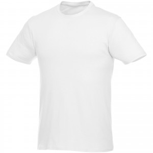 Heros short sleeve unisex t-shirt, White (3802801)