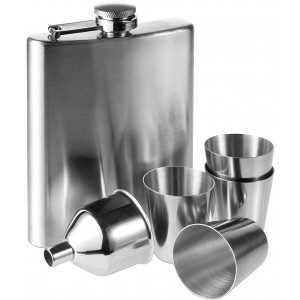 Hip flask, Silver (2807-32)