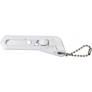 Hobby knife with keychain, White (8368-02)