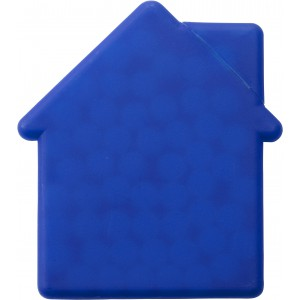 House shaped mint card., cobalt blue (6671-23)