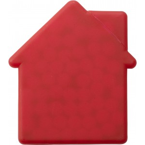 House shaped mint card., red (6671-08)