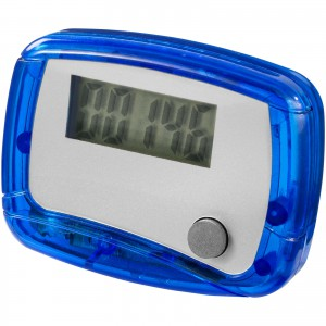 In shape pedometer, blue, 4,5 x 3,5 x 2 cm (10201306)
