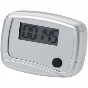 In shape pedometer, grey, 4,5 x 3,5 x 2 cm (10201300)